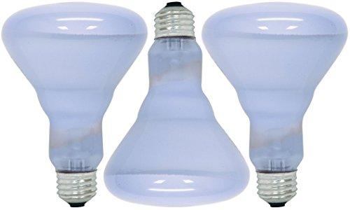 GE Lighting 48692 - 3 Pack - Reveal Br30 Reflector Light Bulb 65 W Lumens 510 Med Base -
