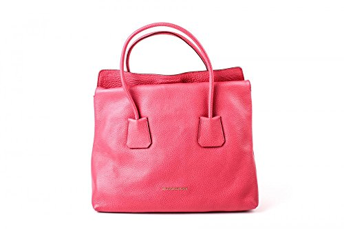 Burberry Women's Grainy Leather Medium Baynard Pink Tote Handbag by BURBERRY