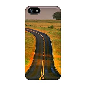 Iphone 5/5s Case Slim [ultra Fit] Dog Legged Road Protective Case Cover