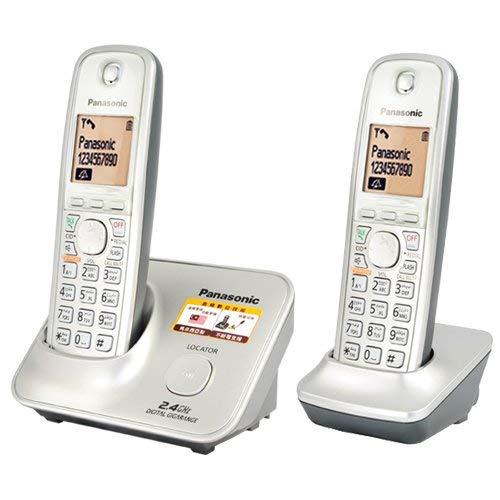 - Panasonic KX-TG3712SXN 2-Handset 2.4 GHz Cordless Telephone, 220 Volts (Not for USA)