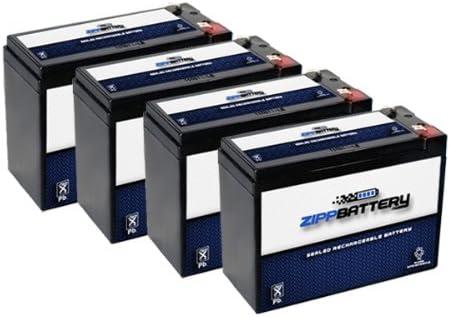 12V 10AH SLA Battery for Electric Scooter Schwinn S180 / Mongoose - 4PK 41trkXY9LXL
