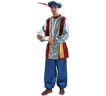 Disfraz o traje Paje del Rey Gaspar extra adulto: Amazon.es ...