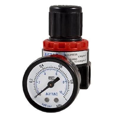Water & Wood AR-2000 Air Source Compressor Pneumatic Regulator w Pressure Gauge