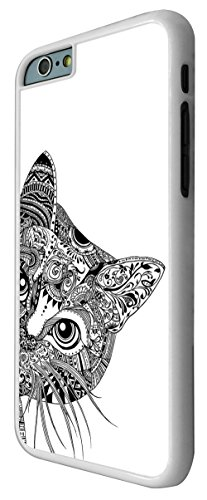 "Cool Aztec Cat Cute Funky iPhone 6 4.7"" Design Fashion Trend Hülle Case Back Cover Metall und Kunststoff"