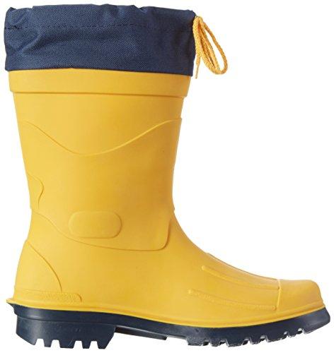 Bockstiegel - Calzado de protección de goma para hombre amarillo amarillo