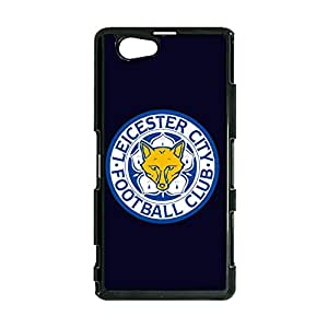 Personalized Leicester City Football Club Mobile Cover Vintage Pattern FC Leicester City Logo Sony Xperia Z1 Compact Phone Case