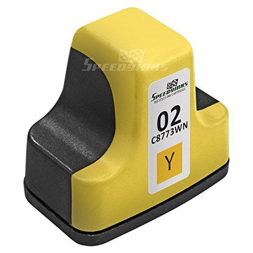 Speedy Inks - Remanufactured Replacement for HP 02 C8773WN HP02 Yellow Ink Cartridge
