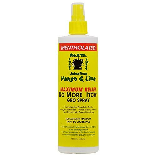 Jamaican Mango No More Itch Gro Spray, Maximum, 16 Ounce (Jamaican Mango And Lime No More Itch)