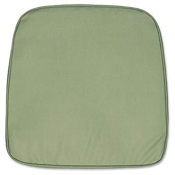 Coussin De Chaise Demi Lune Gris Vert Env 45 X