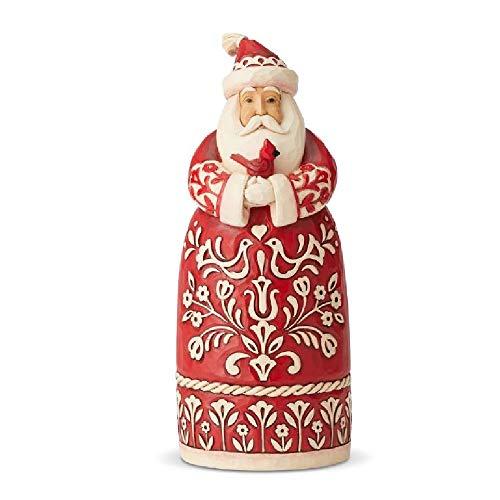 Enesco Jim Shore Heartwood Creek Nordic Noel Santa