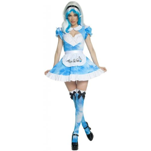 Smiffys Women's Alice In LSD Land (Psychedelic Alice Costumes)