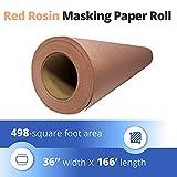 """IDL Packaging 36"""" x 166' Red Rosin Heavy Duty"""