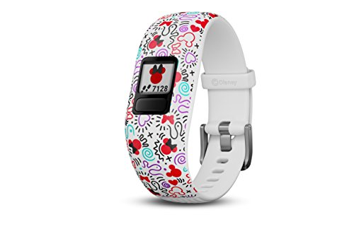 Jr Activity (Garmin Vivofit jr. 2 - Adjustable Minnie Mouse - Activity Tracker for Kids 010-01909-30)