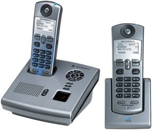 Cordless Telephone with Digital Answering Machine and Call W