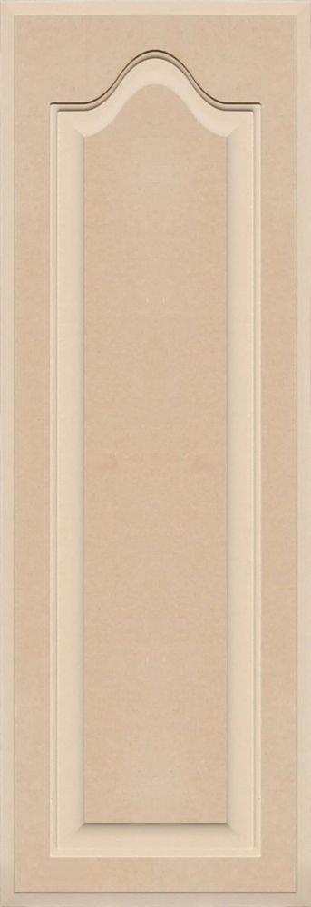 Unfinished Arch Top Cabinet Door in MDF by Kendor, 35 High x 12 Wide Kendor Wood Inc.