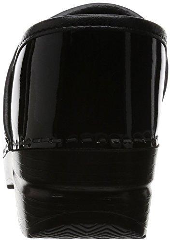 Dansko Women's Professional Patent Leather Clog,Black Patent,39 EU / 8.5-9 M US