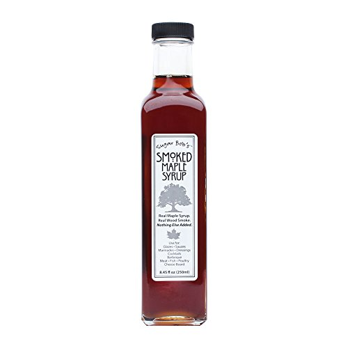 Sugar Bob's Finest Kind Smoked Maple Syrup 8.45 fl oz Made In Vermont by SBFK, Inc.
