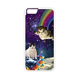 "Flying cat Back Case Cover for Iphone6 4.7"",diy Flying cat case cover series 5"