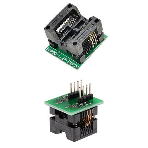 MonkeyJack Programmer Adapter Socket Converter SOIC8 SOP8 To DIP8 -200mil &Narrow Chip
