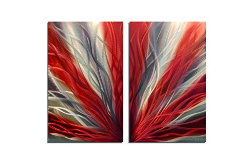 Metal Wall Art, Modern Home Decor, Abstract Wall Sculpture