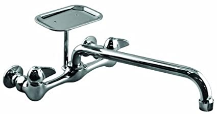 Aqua Plumb 1800090 Ab1953 Reqes 8 Inch Two Handle Polished Chrome