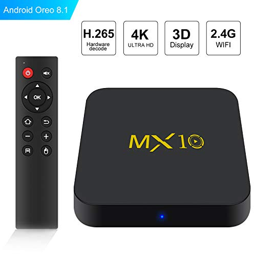 Android TV Box - SCS ETC MX10 Android 8.1 TV...