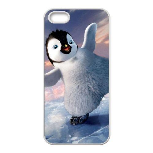 P7X11 Happy Feet Two G9M1ZD coque iPhone 5 5s cellulaire cas de téléphone couvercle coque blanche SF8YOI4LK