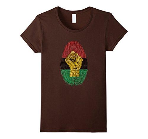 African Pride Fingerprint Black History T-Shirt