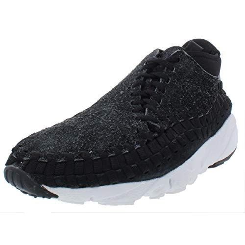 Nike Mens Air Footscape Woven Chukka Suede Trainer Chukka Black 10 Medium (D)