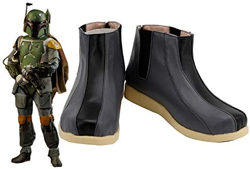 Bounty Hunter Boba Fett Cosplay Shoes Costume Boots Custom Shoes