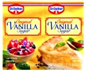 Dr. Oetker Original Vanilla Sugar, 6 Individual Packets Included