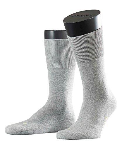 Falke Mens Run Cotton Blend Socks Light Grey rD3HPjS