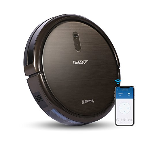 ECOVACS DEEBOT N79S Robot Vacuum Cleaner with Max Power Suction, Alexa Connectivity, App Controls, Self-Charging for Hard Surface Floors & Thin Carpets 1yr Robot