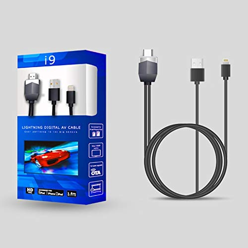 (Cables & Connectors HDMI Cable HDMI Adapter AV HD TV Converter for for iPhone 8 X 7 6S 6 5 - (Cable Length:)