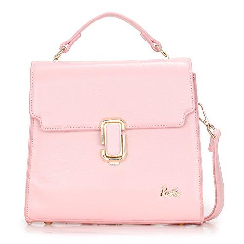 Barbie Borsa a tracolla e a mano dalla serie di WebCelebrity in PU da Donna Ragazza Colore Blu Rosa#BBFB581 (rosa)