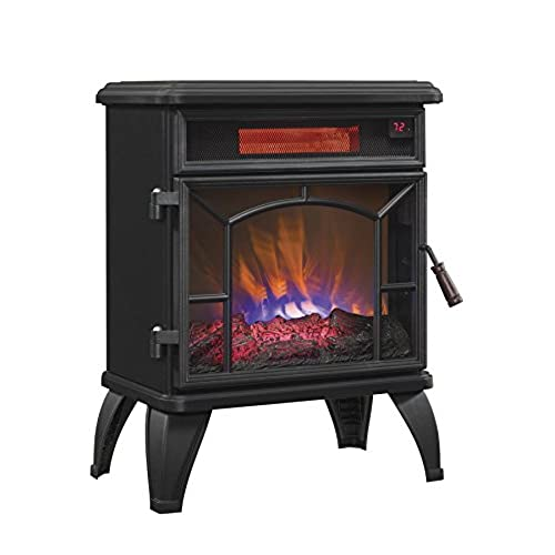 Electric Fireplace With Heater Amp Thermostat Control
