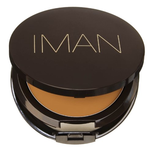 IMAN Second To None Cream To Powder Foundation, Light Skin, Sand 5