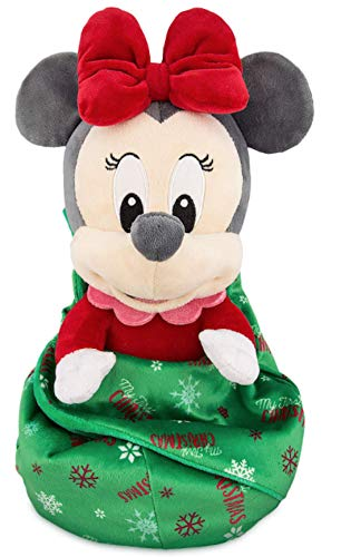 Disney Parks Minnie ''My First Christmas'' Plush with Blanket Pouch