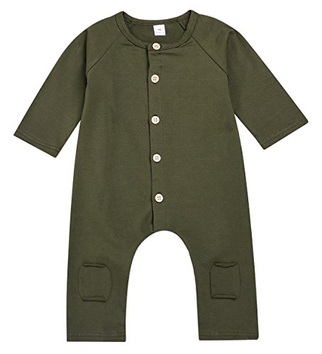 Baby clothes girls and boys' Sleepwear jumpsuits Romper - 7