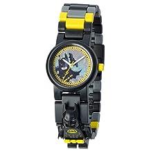 LEGO Unisex Kids Batman Movie Batman Minifigure 8020837 Analog Display Quartz Multi-Color Watch