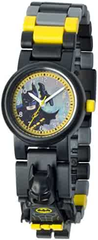 Lego Batman Movie Batman Minifigure Unisex 8020837 Analog Display Quartz Multi-Color Watch