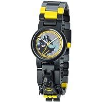 LEGO BATMAN MOVIE Batman Minifigure Link Watch | black/yellow | plastic | 28mm case diameter | analog quartz | boy girl | official