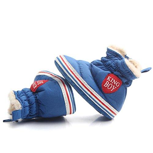 ❆HUHU833 Kinder Mode Baby Stiefel Soft Sole, Keep Warm Bär Druck Schnee  Stiefel, ...