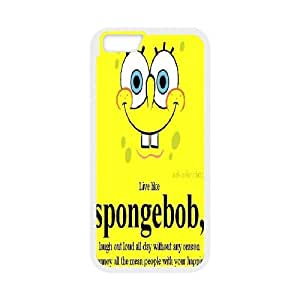 IPhone 6 Case Spongebob Quote, Sexyass, [White]