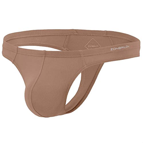 Zonbailon Sexy Underwear G-String Mens Thong Swimwear T-Back 2X