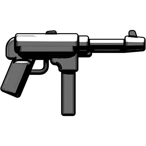 BrickArms 2.5 Scale LOOSE Weapon MP40 9mm WW2 SMG Gun Metal