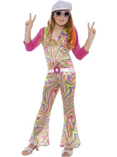 Groovy Glam Hippie Kids Costume