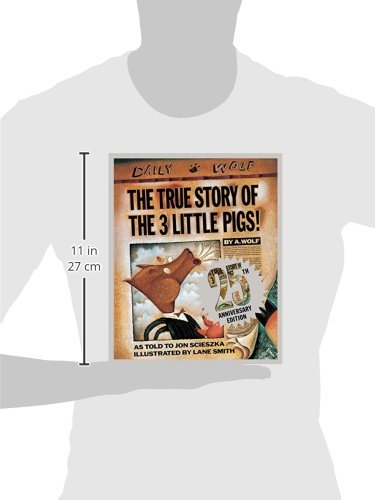 The True Story of the Three Little Pigs 25th Anniversary Edition by imusti (Image #2)