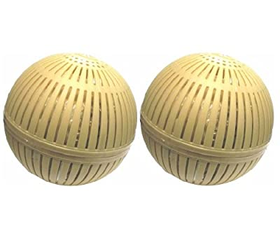 Healthy Ponds 51118 Aquasphere Pro Biodegradable Pond Treatment 2-Pack, Each Sphere Treats up to 12,500 Gallons