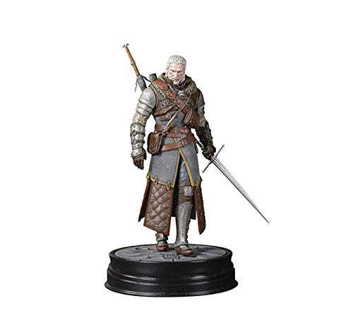 Dark Horse Deluxe The Witcher 3: Wild Hunt: Geralt Grandmaster Ursine - And Game Video Statues Figures